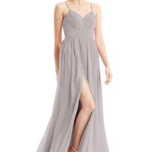 Beautiful Silver Azazie Dress